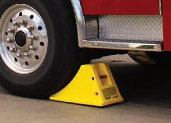 truck-with-heavy-duty-wheel-chock